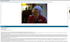 Anna King Oral History