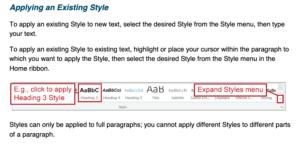 Microsoft Word toolbar