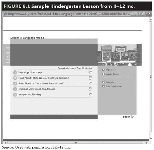 Chapter 8 Supporting Student e-learning – Methods of